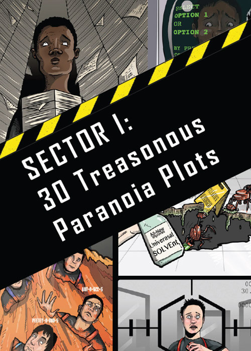 Paranoia Sector 1 page